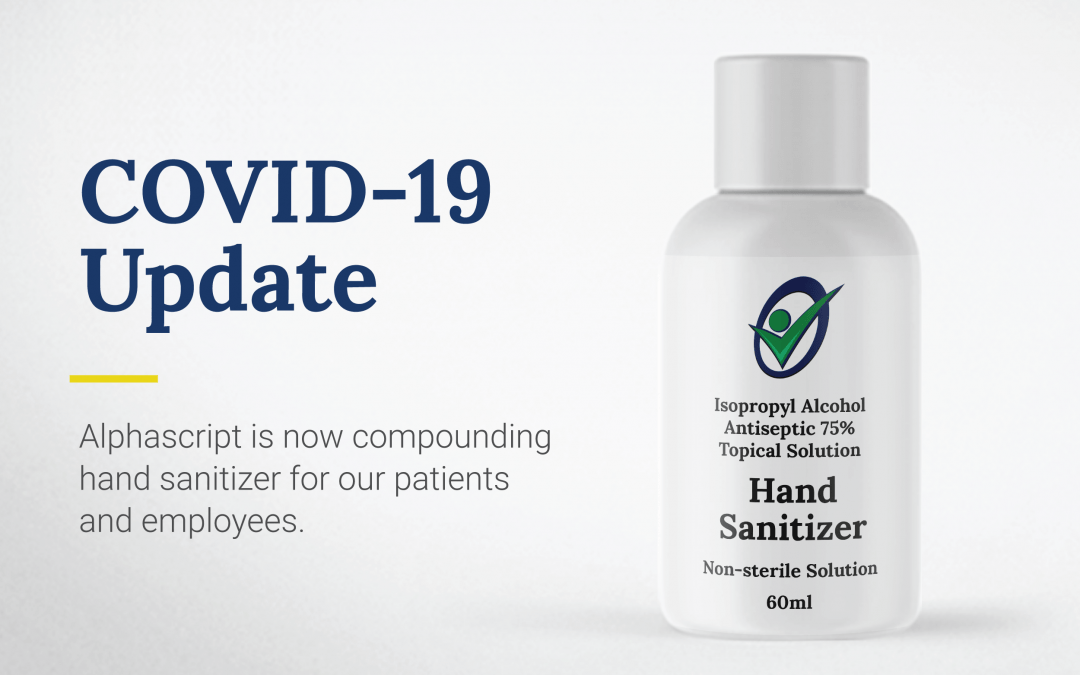 COVID-19 Update: Compounding Hand Sanitizer