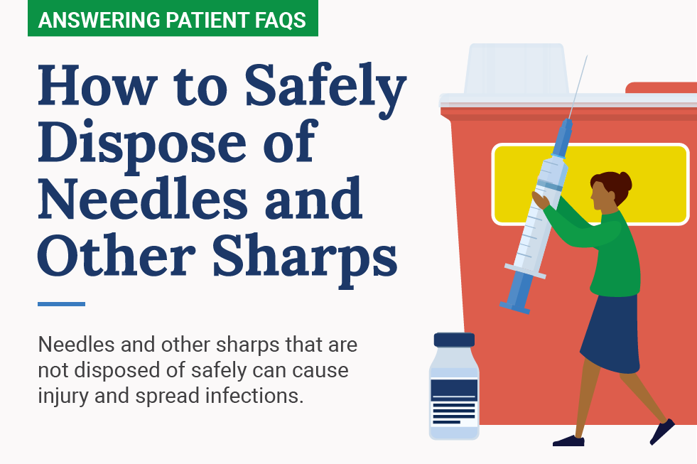 How to Safely Dispose of Needles