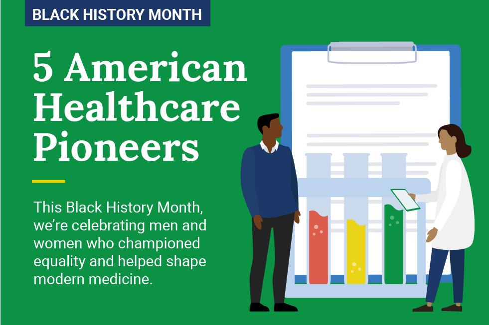 Celebrating Black History Month: 5 American Healthcare Pioneers