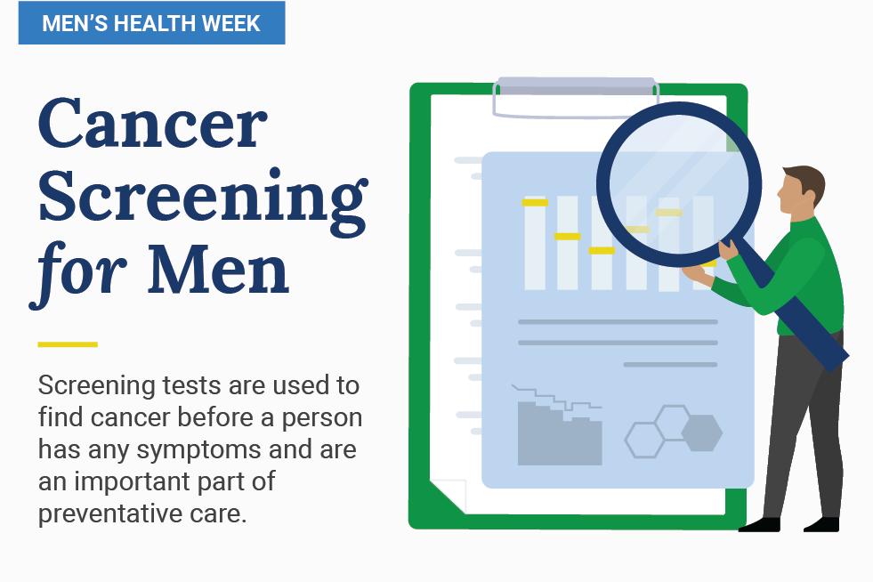 Cancer Screening for Men